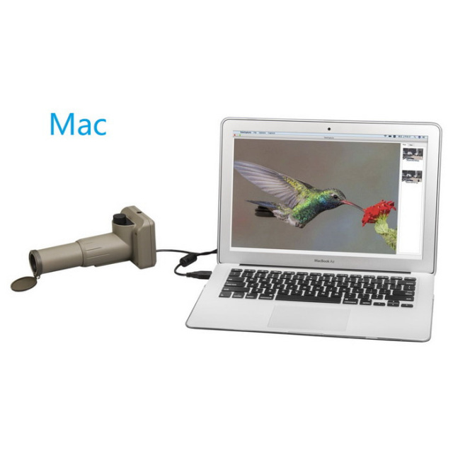 USB digital spotting scope camera